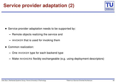type vienna serving 2 agilo patterns of service oriented architecture