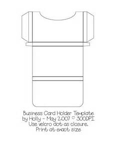 business card holder template i ll try to do with paper pinter