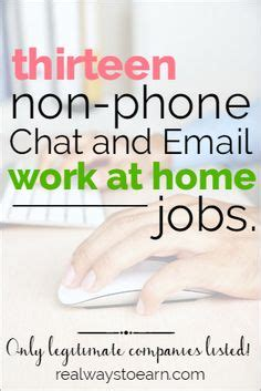 Online Chat Jobs Work From Home - do you need a non phone work from home job do you prefer