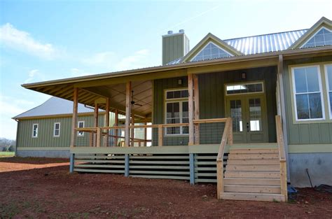 Open Floor Plans With Wrap Around Porch by Contemporary Country Home Coensol Builders Inc