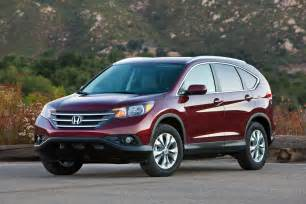 Honda Crv 2013 Mpg 2013 Honda Cr V High Fuel Economy Suv Onsurga