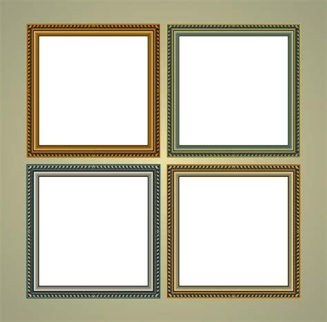 frame design in corel draw classic frames vector art download free vintage frame