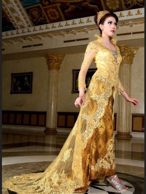 Gaun Pernikahan Ivan Gunawan ini dia model baju kebaya rancangan ivan gunawan terbaru