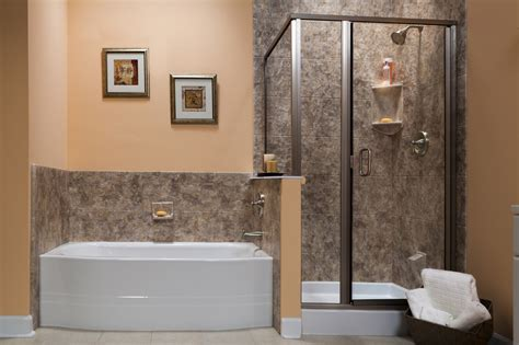 bathtub shower walls 1 day bath remodel quality tub