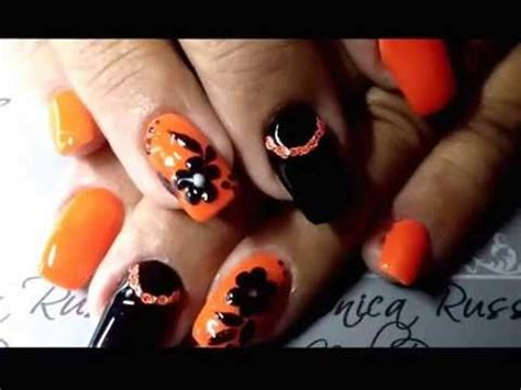 monica russo nail designs led nail art by monica russo nail designs youtube