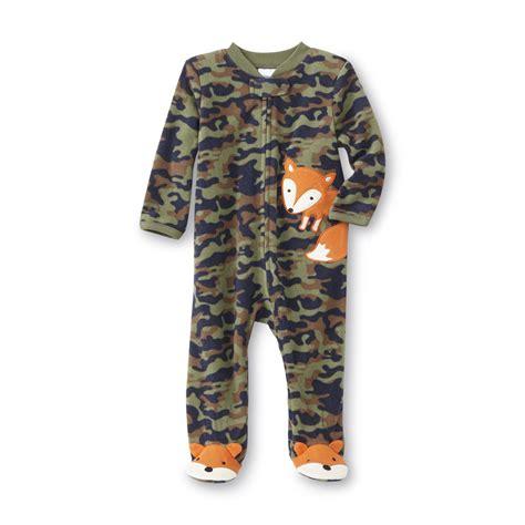 Footed Sleeper Pajamas by Small Wonders Newborn Boy S Footed Sleeper Pajamas Camo