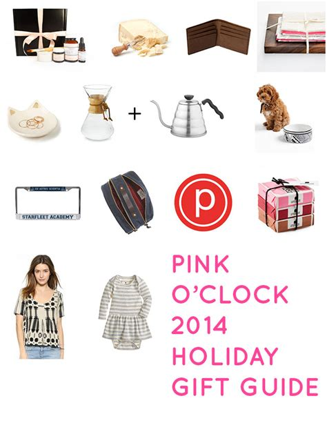 2014 holiday gift guide pink o clock