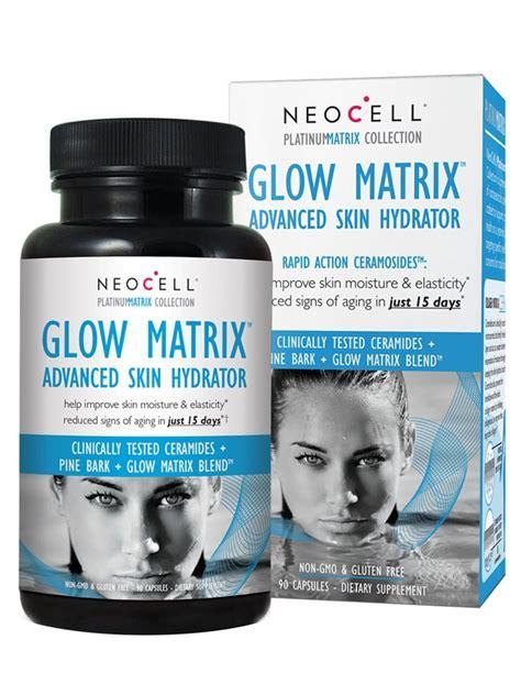 Glow Collagen neocell glow matrix advanced skin hydrator 90 capsules