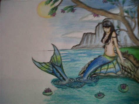 imagenes de sirenas para dibujar a lapiz dibujo creando una sirena taringa