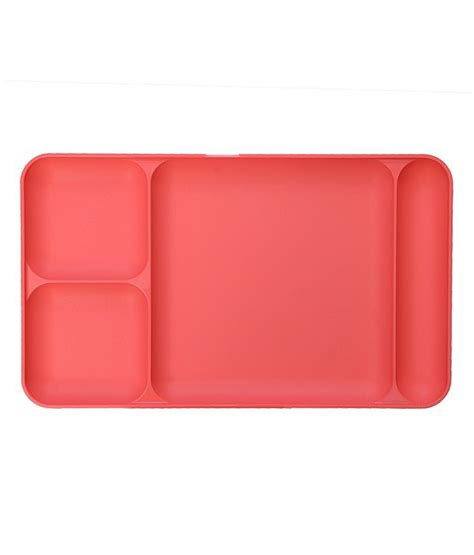 Tray Pink Tupperware tupperware pink colour dinning tray buy at best