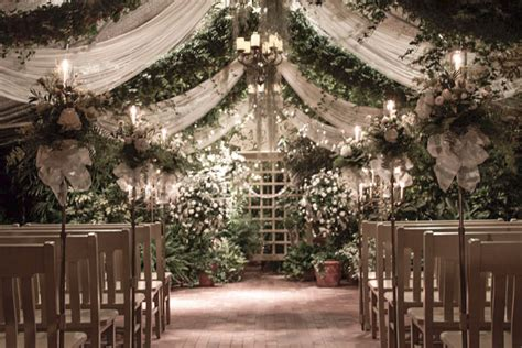 The Bridal Garden by Stunning Themes To Make Your Wedding Memorable