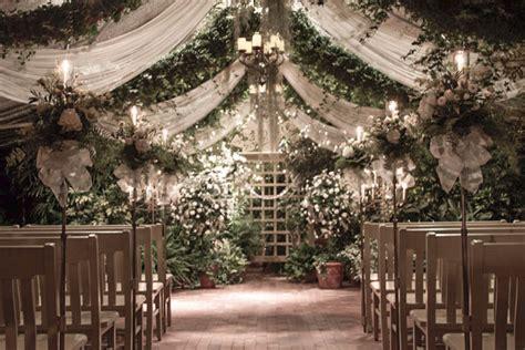 Wedding Aisle Garden by The Conservatory Garden Wedding Embellishments