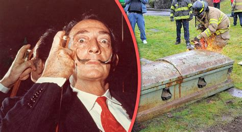 Judge Orders Habitual User To Be Tested A Week by Salvador Dali S To Be Exhumed For Paternity Test