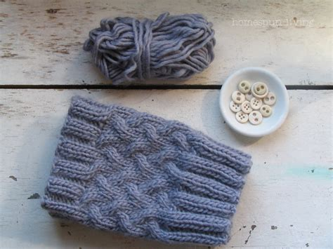 free knitting patterns for boot cuffs homespun living thank you a free boot cuff pattern