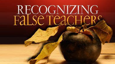 false teaching in the church