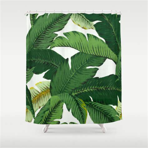 banana leaf curtains palm leaf shower curtain banana leaves shower curtain tropical