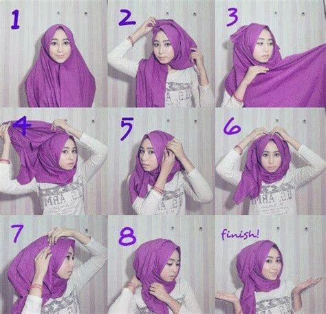 step by step pictorial tutorials of different style puff how to wear a hijab in style 12 tricks