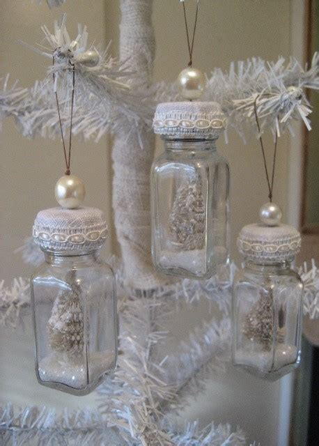 shabby chic diy diy shabby chic bottle ornaments from salt and pepper