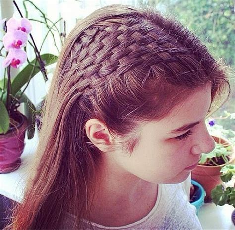 plaits with weave basket weave plait 43 stunning summer plaits you ll want