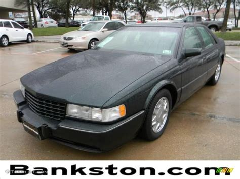 White 1995 Cadillac Seville Sts 1995 Polo Green Metallic Cadillac Seville Sts 60289619