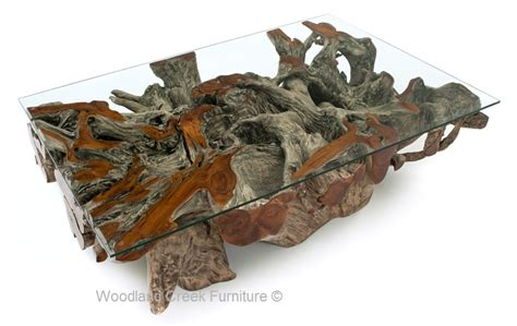 teak root coffee table root coffee table wood organic style table