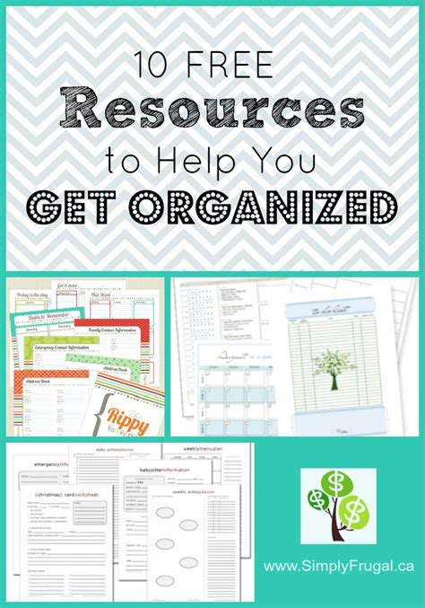 help getting organized get organized with organizational 10 free resources to help you get organized