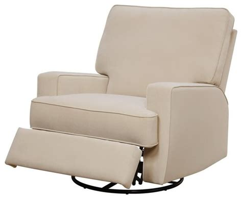 Beige Recliner Chairs by Dorel Asia Baby Relax Rylan Swivel Gliding Recliner Beige