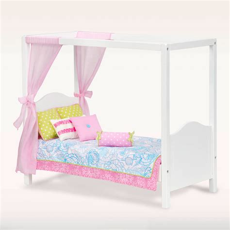 beds for dolls our generation my sweet canopy bed from our generation