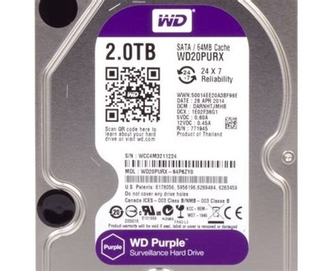 Hardisk Wd Purple 1tb Harga review and test drives wd purple 2 4 and 6 tb hardware boom