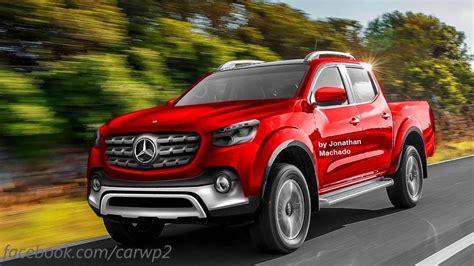 2018 mercedes up truck preview new 2018 mercedes glt nissan navara