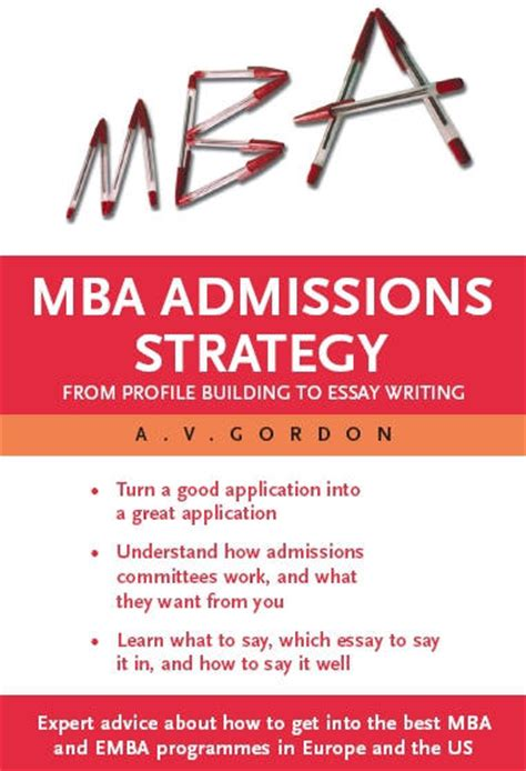 Mba Application Book nus mba admission essay