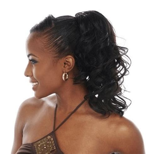 hi low curly hairdo curly ponytail hairstyles for prom www pixshark com