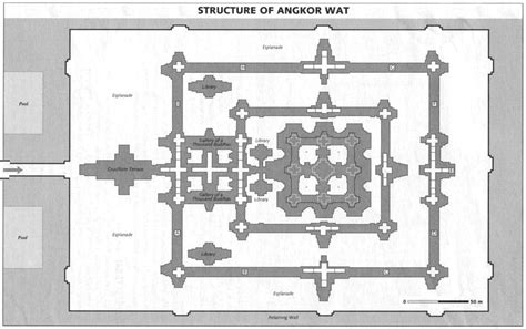 angkor wat floor plan cambodia preview