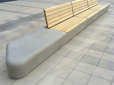 concrete bench design street furniture designs arpa concrete bench system