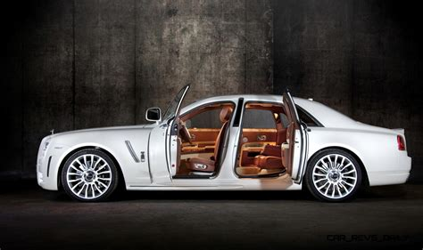 rolls royce white inside mansory rolls royce ghost upgrades in white and electric