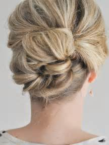 wedding updo hairstyles easy updo hairstyles 5 easy updos for medium hair