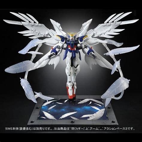 Rg Wing Zero Ew Complete Set exclusive rg wing zero ew seraphim feather set nz gundam