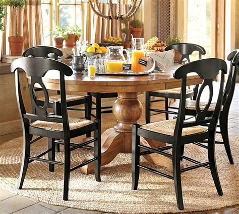 Sumner Pedestal Table Sumner Extending Pedestal Dining Table Traditional