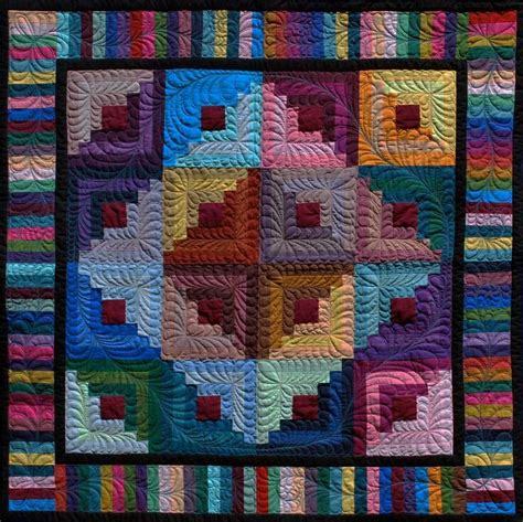 Log Cabin Patchwork Technique - 17 best images about quilts on quilt