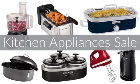 small kitchen appliances on sale 30 off kitchen appliances sale today only appliances