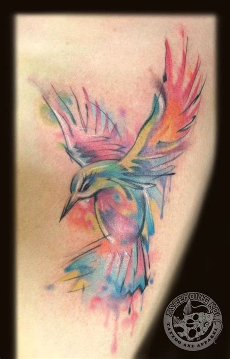 watercolor bird tattoo designs 11 hummingbird watercolor