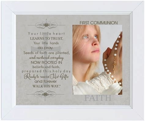 Holy Communion Giveaways - first holy communion frame