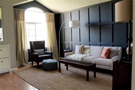 Dining Room Chair Rail Ideas where to put curtains on a window that has an arch chris