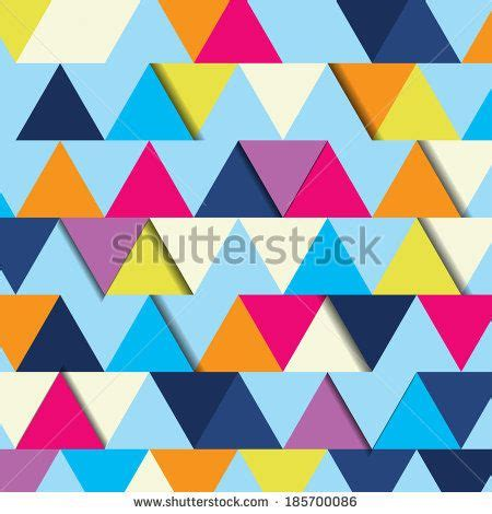 shape up pattern abstract background made up of multicolor triangular