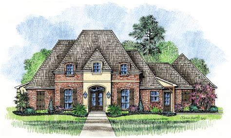 french country house designs meadowbrook country french home plans louisiana house plans