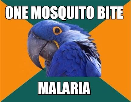 Mosquito Meme - paranoid
