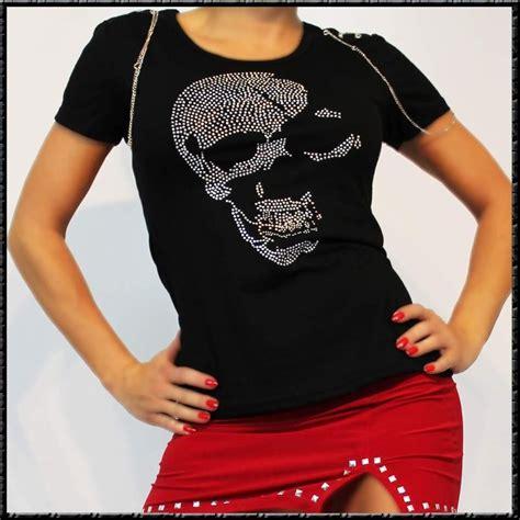 Motorradclub Totenkopf totenkopf magic t shirt motorradclub punk s l schwarz