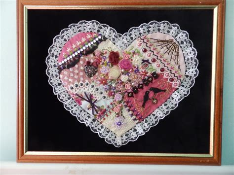 Patchwork Hearts - crafty cats corner cooler now