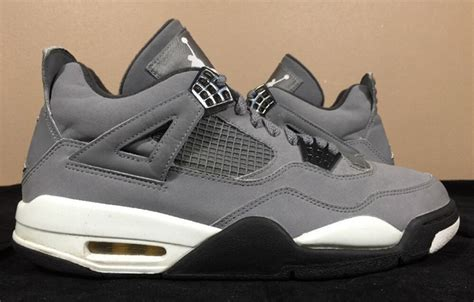 The Air 4 Cool Grey by The Daily Air 4 Quot Cool Grey Quot 2004 Air Jordans Release Dates More