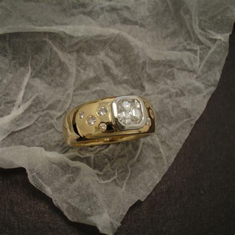 platinum bezel custom made ring repair christopher